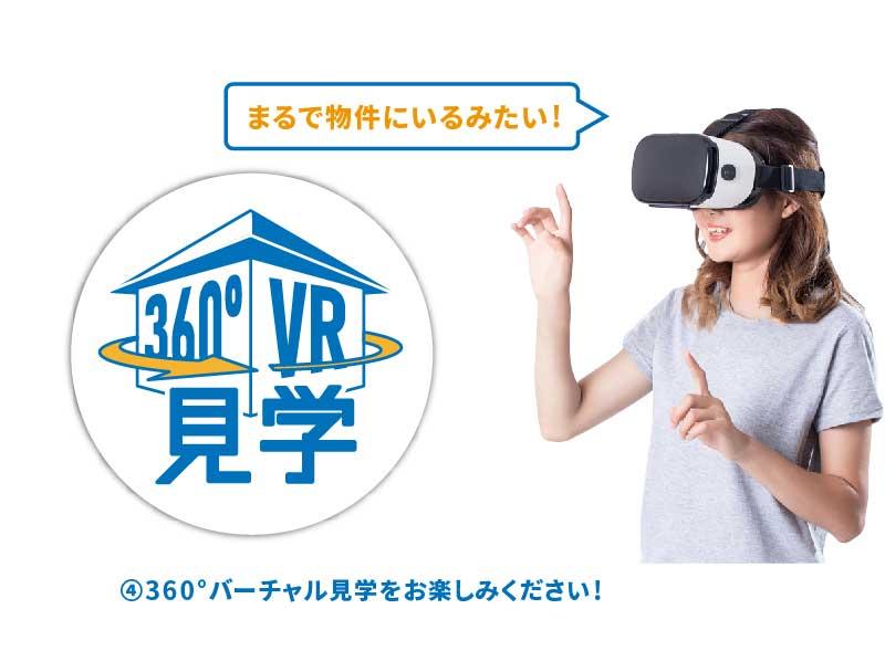美都住販 360° VR 使い方 バーチャル 内覧 見学