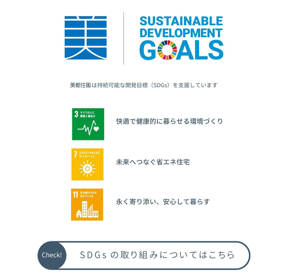 美都住販 空気 イベント モデルハウス 持続可能な開発目標(SDGs)を支援しています